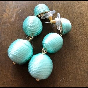 Dangle turquoise drop earrings